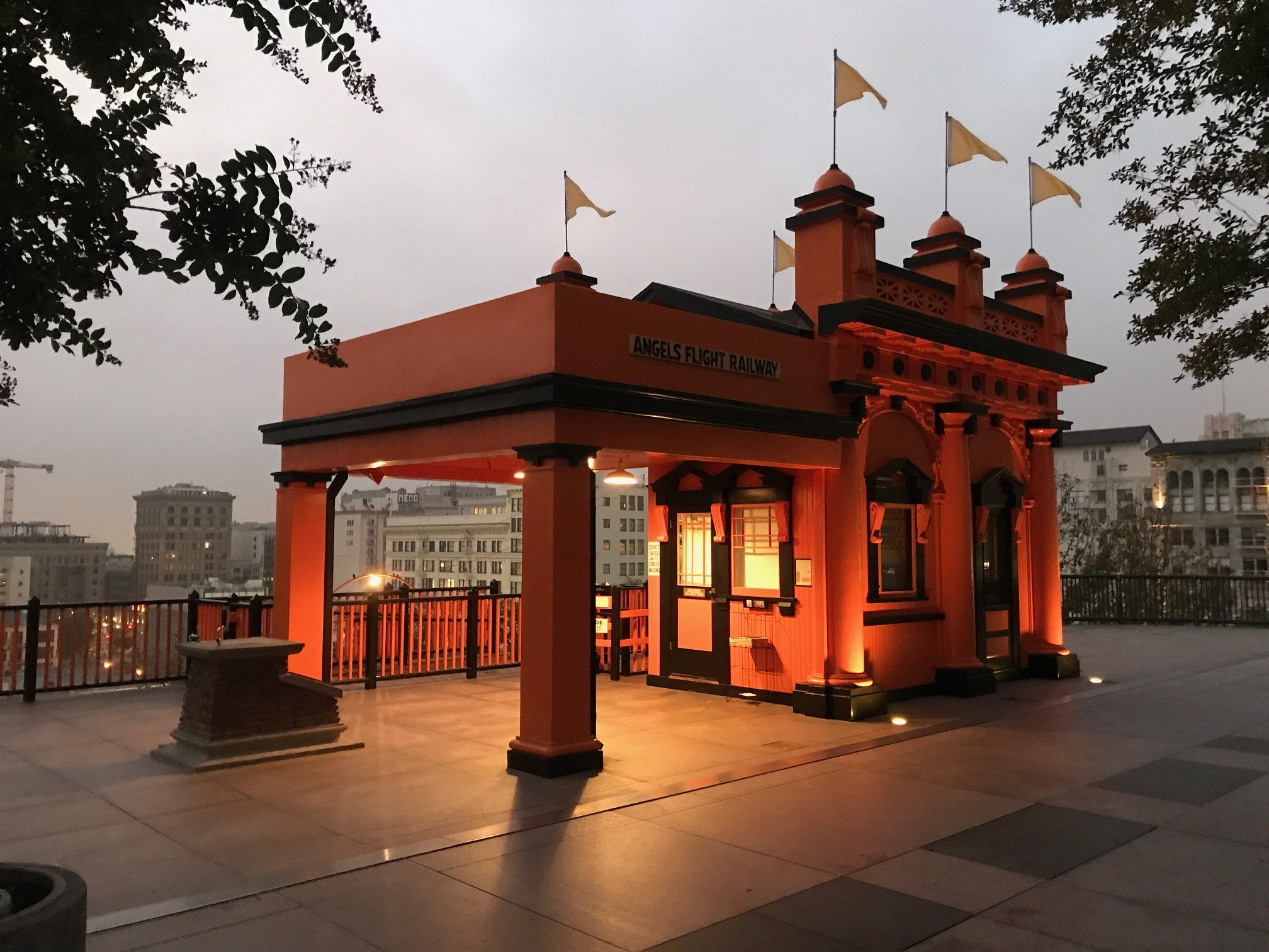 Angels Flight Railway Los Angeles Landmark Since 1901